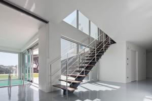 Escalier acier et bois sur mesure