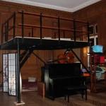 Mezzanine en acier