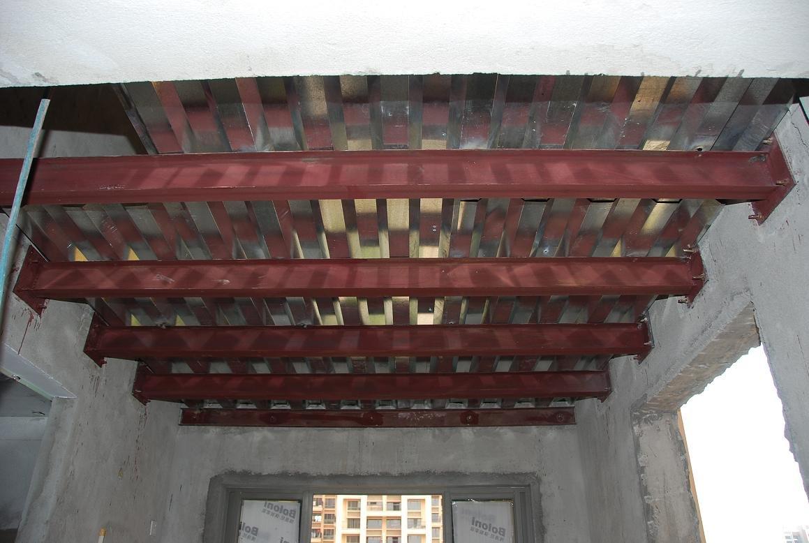 Matériaux de qualité destiné à la fabrication d'éléments de construction comme charpente métallique