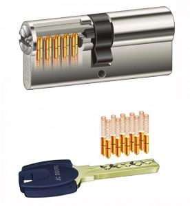 Cylindre TITAN JC DOORS